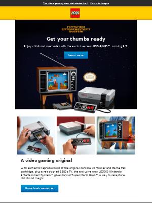 New exclusive LEGO® NES™