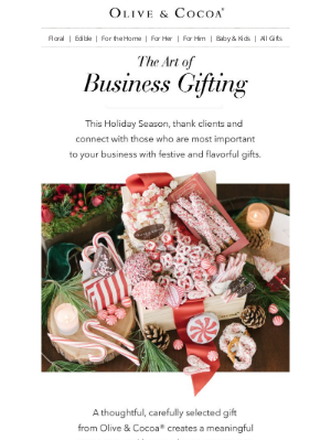 Olive & Cocoa - Discover the Delectable Art of Business Gifting