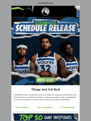 Minnesota Timberwolves and Lynx - Are You Ready? The 2021-22 Schedule Is Out Now!