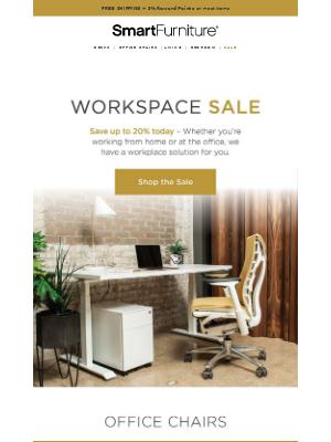 Starts Now: Workspace Sale