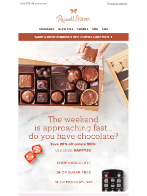 Russell Stover Candies - Your Favorite Chocolate is waiting...