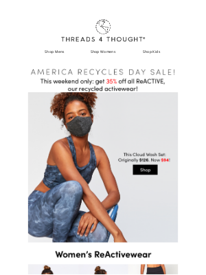 Threads For Thought - ♻️ ReActive Sale for Recycles Day ♻️