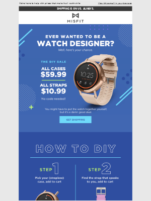 Misfit - Real Misfits make their own watches
