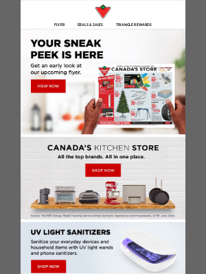 Canadian Tire (CA) - Exclusive preview of our upcoming flyer!