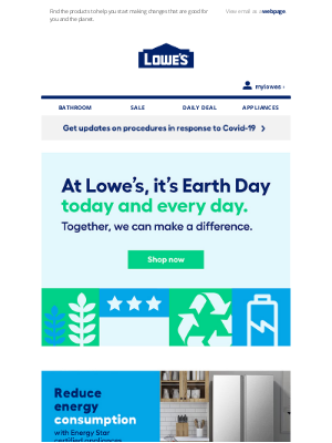 Lowes Canada - Let's make Earth a better home for all of us.
