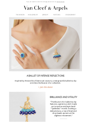 Van Cleef & Arpels - A new ballerina enters the stage