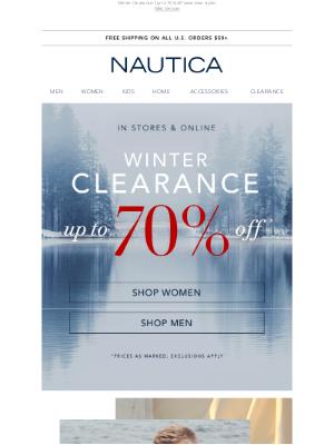 Nautica - New Arrivals are here!