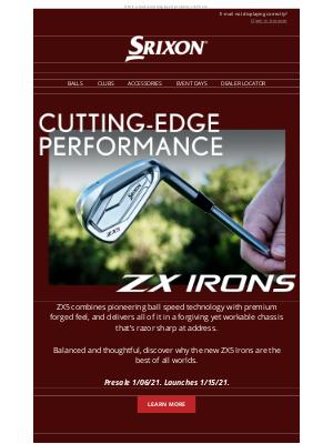 Srixon - Total Confidence | Srixon ZX5 Irons