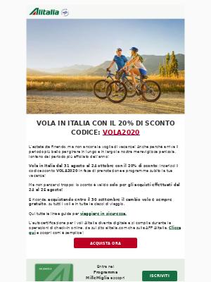 Alitalia (Italy) - Italia al 20% di sconto? 🤩