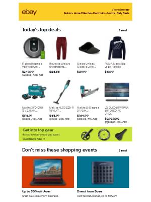 eBay - 🎊 Savings galore 🎊