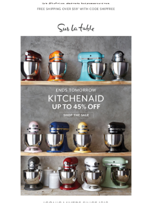 Final Weekend—The KitchenAid Sale