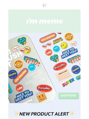 Memebox - ✨NEW✨  For that easy swipe on the go!