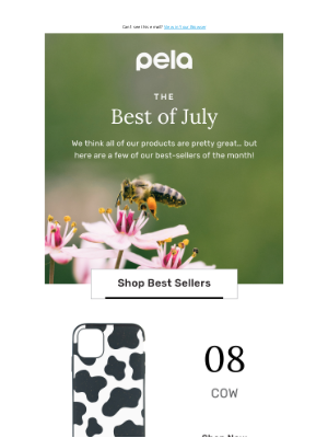 Pela Case - Guess Our Top Selling Case In July 👀
