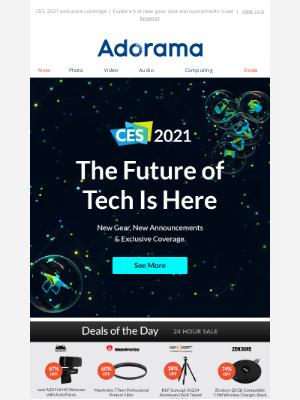 Adorama - Step Into The Future Of New Tech 👾