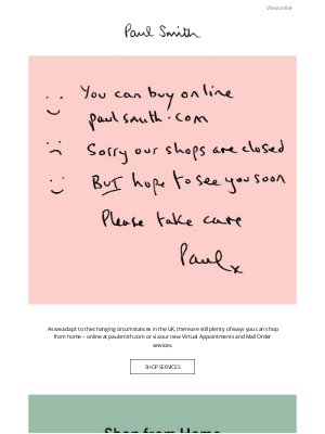 Paul Smith - Shop From Home
