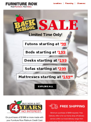 Study Time - Desks from $199