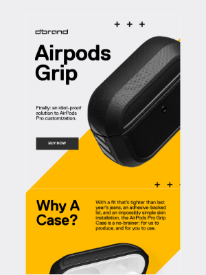dbrand - AirPods, iPhones, and Crime.