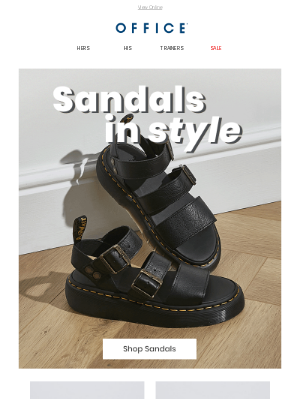 OFFICE Shoes (UK) - Sandals in style