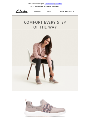 Clarks Shoes - The most comfortable sneakers around