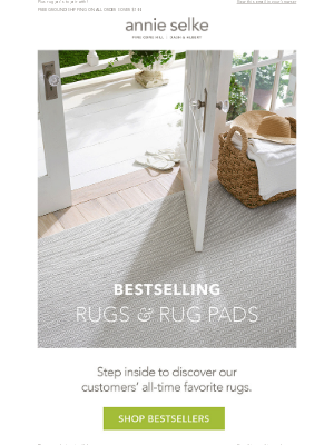 Our Best Selling Rugs!