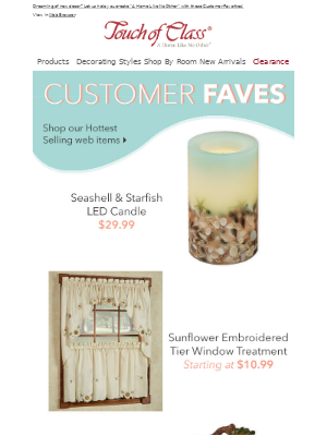 Customer Favorites that have everyone's attention!