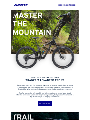 Giant Bicycles - New Bikes to Master the Mountains 🗻