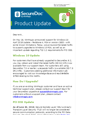Securedoc Windows 10
