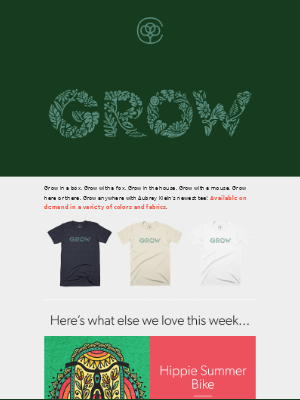T-Shirt Tuesday from Cotton Bureau!