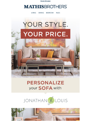 Your Style. Your Price.