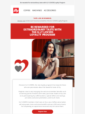 illy - Discover the ILLY LOVERS loyalty program