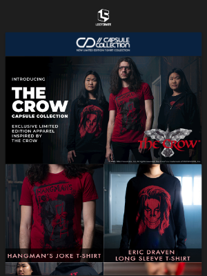 Loot Crate - Get your Crow Capsule collection
