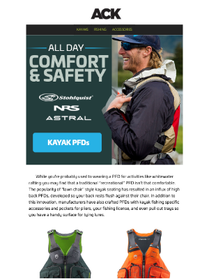 Austin Kayak - Comfortable & Functional PFDs //Made Just for Anglers