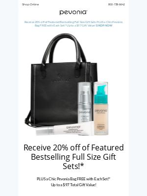 Pevonia Botanica - 20% Off Bestselling Full Size Sets + Free Bag