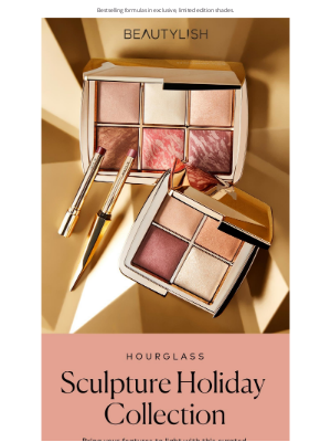 Beautylish - JUST IN: Hourglass Sculpture Collection