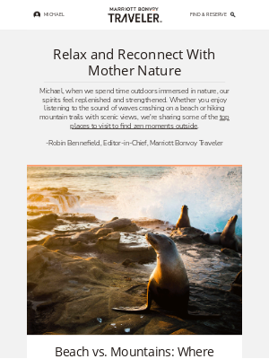 Marriott International - 6 Outdoor Places to Find a Moment of Peace