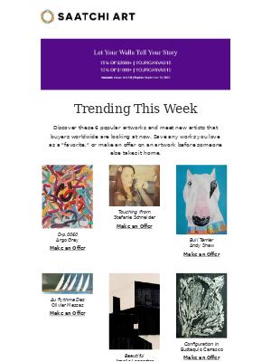 Saatchi Art - Trending This Week