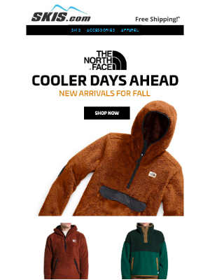 Skis - New! The North Face Fall Arrivals