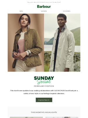 Barbour (UK) - Catch up on all the latest news from Barbour