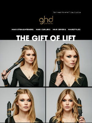 ghd (UK) - Rise gets 5 ⭐'s, read all about it babe.