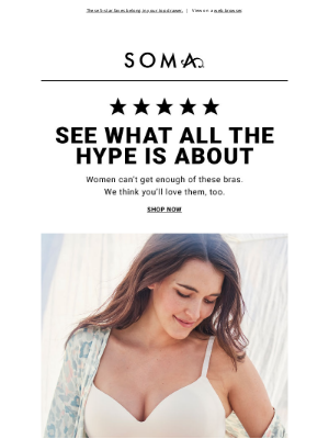 Soma Intimates - On the best-seller list