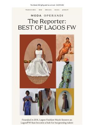Moda Operandi - Your guide to LAGOS FASHION WEEK: meet 4 names to know