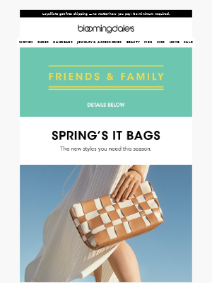 Introducing spring's It bags