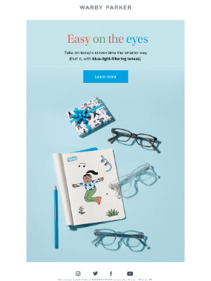 Warby Parker - Not your average Monday