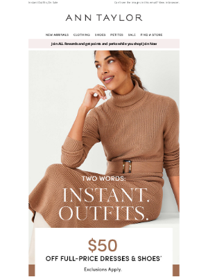 Ann Taylor - We're Making It Easy To Get Dressed (And Look Good)