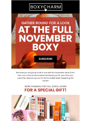 BOXYCHARM - Carve out some fun for this...🍁