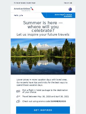 Celebrate summer's arrival