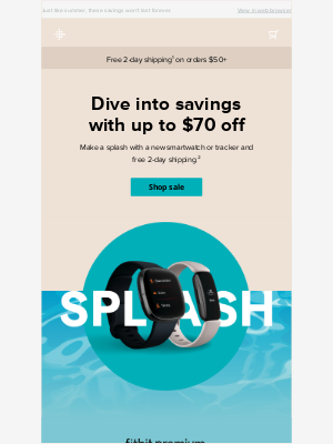 Fitbit - Up to $70 off? Yes, please!