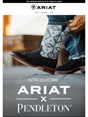 Ariat International Inc - Collab Alert: Ariat x Pendleton