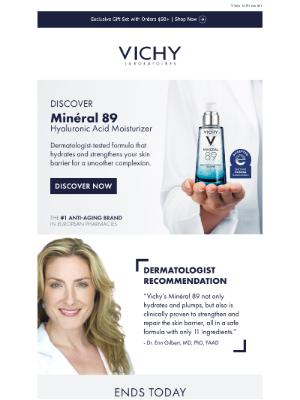 Vichy - Our Best-Selling Hyaluronic Acid Moisturizer