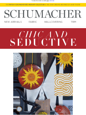 Schumacher and Co. - Our Misterioso Collection Is Here!